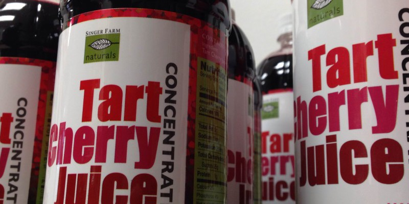 Tart Cherry Juice Has Arrived